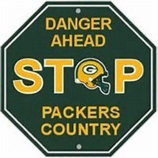 Fremont Die Green Bay Packers Stop Sign