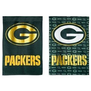 Evergreen Enterprises Green Bay Packers Suede Glitter Banner Flag