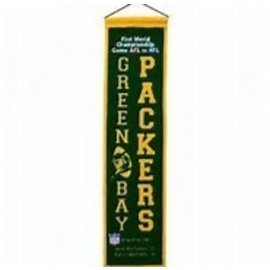 Green Bay Packers Super Bowl I Wool Banner