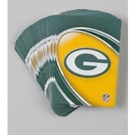 Green Bay Packers Swirly Playing Cards