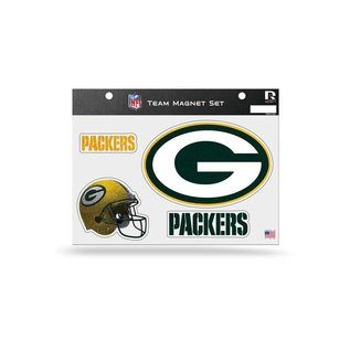 Rico Industries, Inc. Green Bay Packers Team Magnet Set of 4