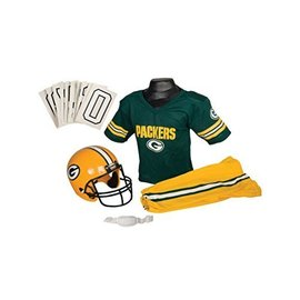 Franklin Sports Green Bay Packers Uniform Set