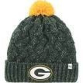 Green Bay Packers Womens Fiona Cuffed Knit Hat