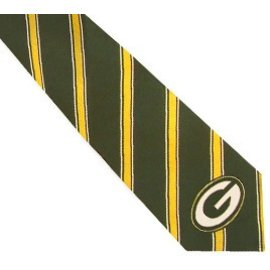 Eagles Wings Green Bay Packers Woven Poly I tie