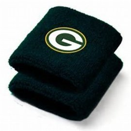 For Bare Feet Green Bay Packers Wrist Bands