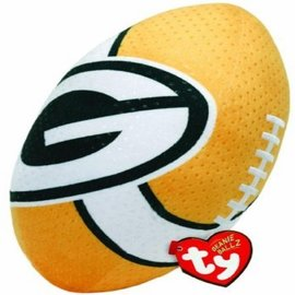 Green Bay Packers yellow plush football