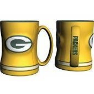 Boelter Brands LLC Green Bay Packers 14 oz Yellow Relief Coffee Mug