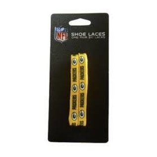 Green Bay Packers Yellow Shoe Laces