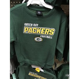 Green Bay Packers youth embroidered sweatshirt