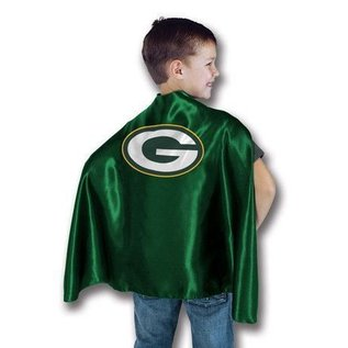 Bleacher Creatures Green Bay Packers Youth Hero Cape