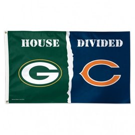 House Divided 3x5 Deluxe Flag Packers vs. Bears