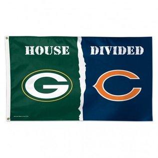 House Divided 3x5 Deluxe Flag Packers vs. Bears