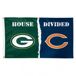 WinCraft, Inc. House Divided 3x5 Deluxe Flag Packers vs. Bears