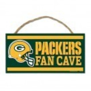 WinCraft, Inc. Green Bay Packers Small Wooden Fan Cave Sign