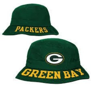 Outerstuff Green Bay Packers Youth Bucket Hat