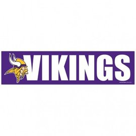 WinCraft, Inc. Minnesota Vikings Bumper Sticker