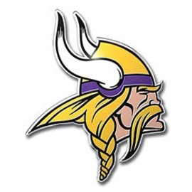 Minnesota Vikings Colored Auto Emblem
