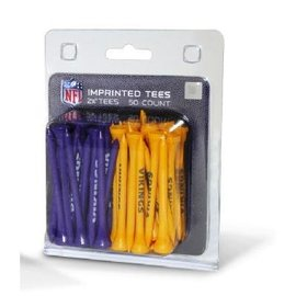 Minnesota Vikings Golf Tees - 50 Count
