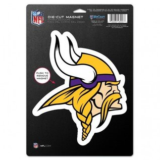 WinCraft, Inc. Minnesota Vikings Magnet - Viking Head