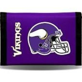 Minnesota Vikings nylon trifold wallet