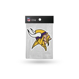Minnesota Vikings shape cut static cling