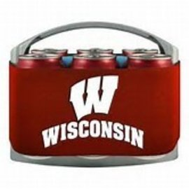 Wisconsin Badger Cool Six Pack Coolers
