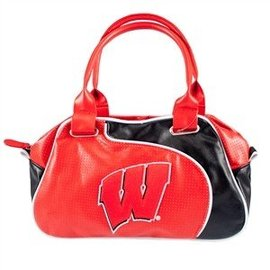 Little Earth Wisconsin Badger Perfect Bowler Purse