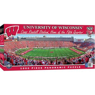 Wisconsin Badgers 1000 pc Camp Randall Panoramic Puzzle