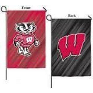Evergreen Enterprises Wisconsin Badgers 2 Sided Banner Flag 29x43