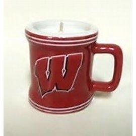 Wisconsin Badgers 2oz Sculpted Mini Mug Shot