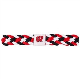Little Earth Wisconsin Badgers Braided Headband