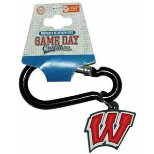 Game Day Outfitters Wisconsin Badgers Clip Keychain