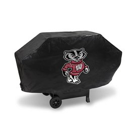 Rico Industries, Inc. Wisconsin Badgers Deluxe Grill Cover