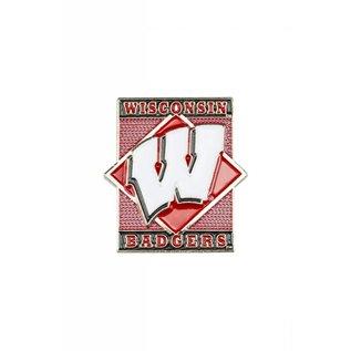 Wisconsin Badgers Diamond Pin