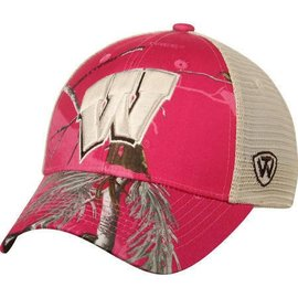Wisconsin Badgers Doe Adjustable Womens hat