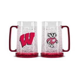 Wisconsin Badgers Freezer Mug