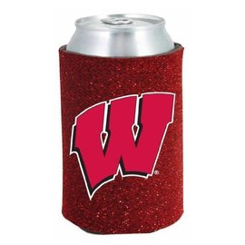 Wisconsin Badgers Glitter Kan Kaddy