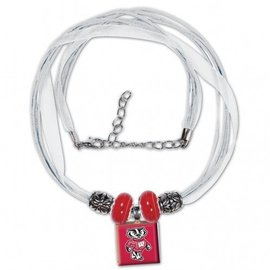 WinCraft, Inc. Wisconsin Badgers Lifetile Necklace - Bucky