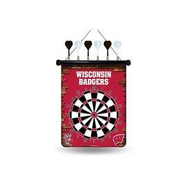 Rico Industries, Inc. Wisconsin Badgers Magnetic Dart Board