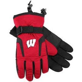 Wisconsin Badgers Nylon Gloves
