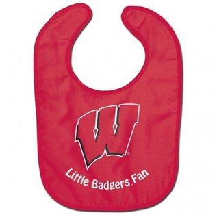 WinCraft, Inc. Wisconsin Badgers Red Baby Bib