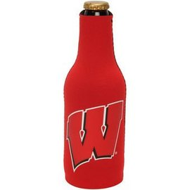Wisconsin Badgers Red Bottle Cooler