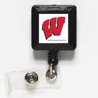 WinCraft, Inc. Wisconsin Badgers Retractable Badge Holder