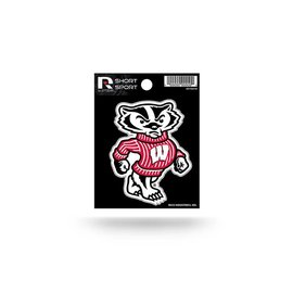 Wisconsin Badgers Short Sport Decal