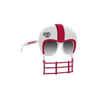 Rico Industries, Inc. Wisconsin Badgers Sunglasses With Face Guard