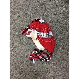 Wisconsin Badgers youth tassel knit hat