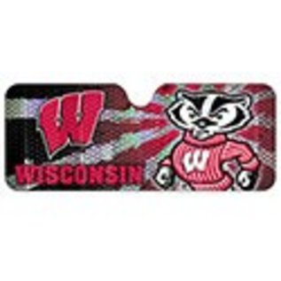 Wisconsin Badgers Auto Sun Shade