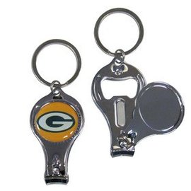 Green Bay Packers Nail Clipper Keychain