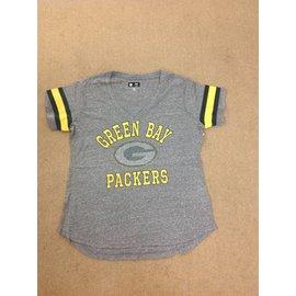 Green Bay Packers Women's Triple Play Short Sleeve Tee