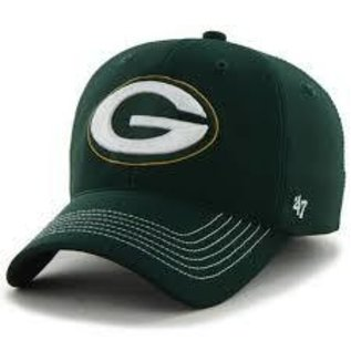 '47 Brand Green Bay Packers Gametime Closer One Size Stretch Fit Hat